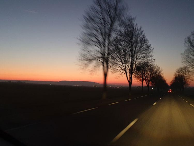 Twilight Over The Montagne de Reims